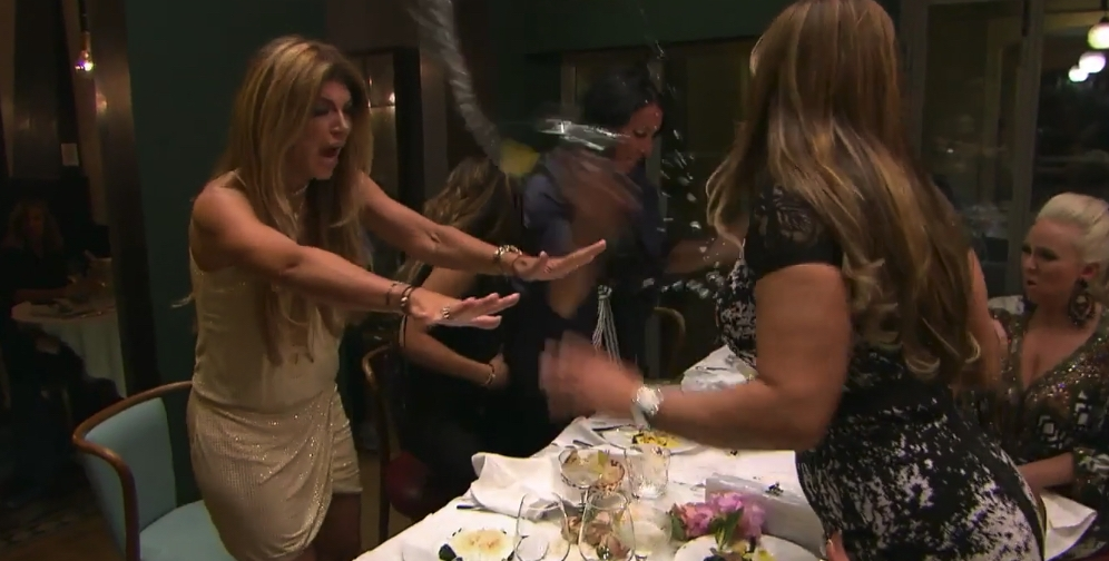 Real Housewives Dinner Fight TV Insider eCoffeeFinder