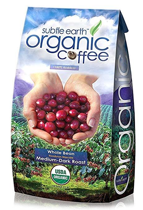 5LB Cafe Don Pablo Subtle Earth Organic Gourmet Coffee