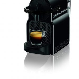 BARISTA GRADE: Nespresso Inissia by De'Longhi offers an impeccable single-serve Coffee or Espresso cup every time,