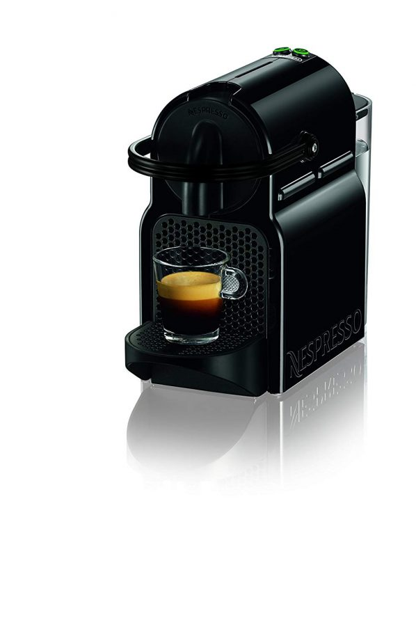 BARISTA GRADE: Nespresso Inissia by De'Longhi offers an impeccable single-serve Coffee or Espresso cup every time,