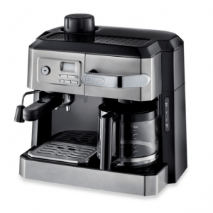 De'Longhi BCO330T Combination Steam Espresso Drip Coffee Cappuccino and Latte Machine in Silver eCoffee Finder