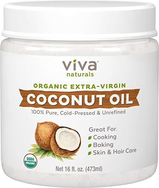 Viva Naturals Organic Extra Virgin Coconut Oil eCoffeeFinder