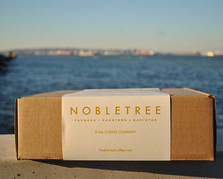 Pour-over Collection From Nobletree Coffee Brooklyn NYC box eCoffeeFinder