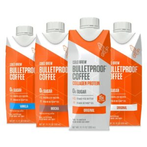 COLD BREW COFFEE SAMPLER - 4CT By Bulletproof