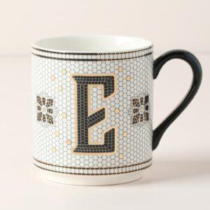 Bistro Monogram Coffee Mug by ANTHROPOLOGIE @ eCoffeeFinder.com