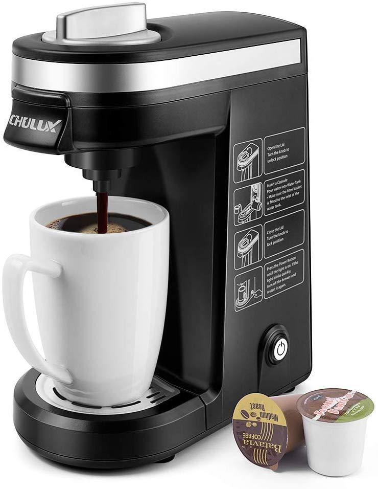 CHULUX-Single-Serve-Coffee-Maker-Airbnb-Best-Coffee-Maker-ECoffeeFinder