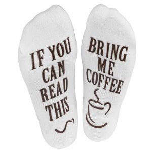 If You Can Read This Bring Me Some Coffee Socks ECoffeeFinder