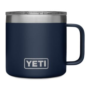 Rambler Coffee Mug, 14-Oz. by Yeti Blue @eCoffeeFinder.com