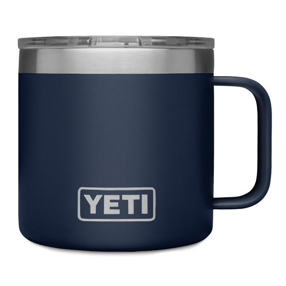 Rambler Coffee Mug, 14-Oz. by Yeti Blue @eCoffeeFinder.com