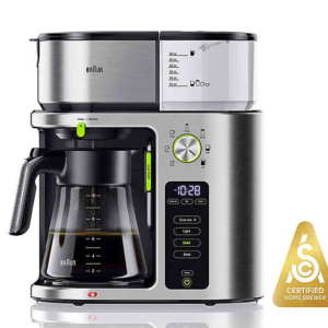 Braun 10-Cup MultiServe Drip Coffee Maker