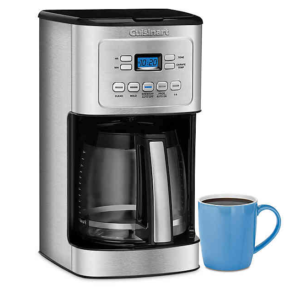 Cuisinart® 14-Cup Programmable Drip Coffee Maker with Hotter Coffee Option