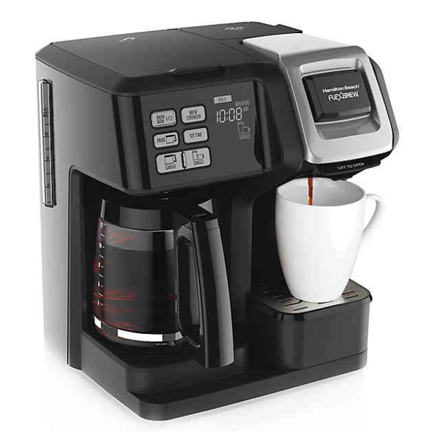 Hamilton Beach FlexBrew 2-Way Drip Coffee Maker