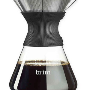 brim Glass Pour-Over Coffee Maker