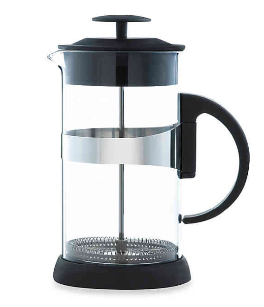 Grosche Zurich French Press in Black